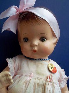 "~ Cute 19"" Composition Effanbee ""Patsy Ann"" Doll ~"