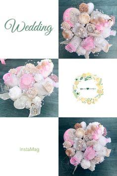 Mydlová kytica -svadobná