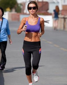 One day I'll look like this when I'm out for a run... :-)