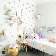 What a Magical space @harluxe has created for her daughter  so happy to have our Pink Unicorn Wall Mount included in this room   #girlsroominspo #shopsmall #moochiboo #childrensinteriors #childrensdecor #childrensroom #kidsspace #kidsdecor #kidsinspiration #kidsinterior #kidsinteriordesign
