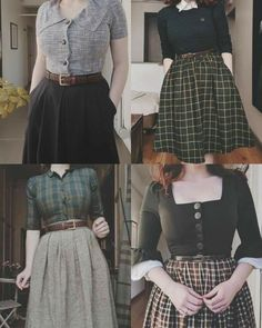 Pretty Outfits, Pretty Dresses, Cool Outfits, Casual Outfits, Vintage Dresses, Vintage Outfits, Vintage Fashion, Modest Fashion, Fashion Dresses