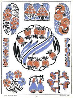 Орнамент Модерна. Иллюстрации из книги Henri Gillet. Обсуждение на LiveInternet - Российский Сервис Онлайн-Дневников