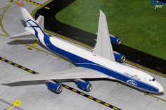 1/200 GeminiJets Air Bridge Cargo 747-8F Diecast Model