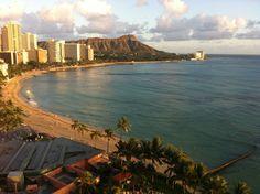 At the Sheraton Waikiki in Honolulu