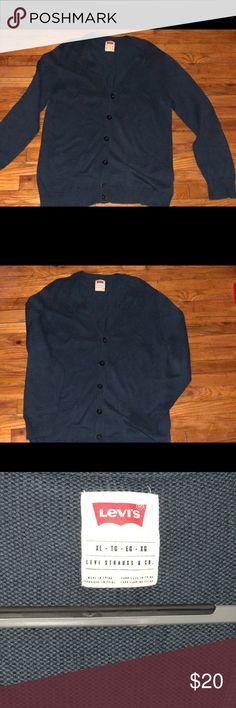 Levis Cardigan Levis Cardigan Color teal 100% cotton XL Levi's Other