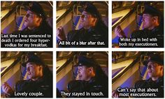 Big what the heck moment...hahahaha Captain Jack --Doctor Who