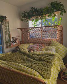 Dream Rooms, Dream Bedroom, Room Ideas Bedroom, Bedroom Decor, Bedroom Inspo, Bedroom Bed, Bed Room, Indie Room, Indie Living Room