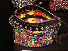 Pop Tab Handbag Beautiful Colors by BeasCollectibles on Etsy