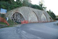 La cinta muraria del borgo di Piegaro.