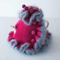 Loani Prior tea cosies # Pin++ for Pinterest #