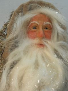 Victorian Father Christmas by Lois Clarkson american-artists.com snowdinstudios.com: