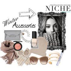 """Winter Accessories"" by niche-magazine on Polyvore"