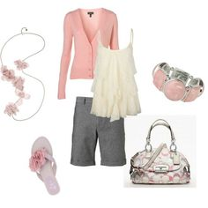 Pretty in Pink, created by lislyn on Polyvore Pretty in Pink,