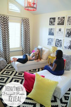 Teen/tween Hangout Room Reveal! [#inawaverlyworld