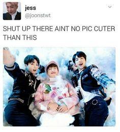 BTS JK RM SJ | brb gotta jump off a cliff
