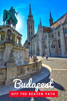 Budapest, Off the Beaten Path: Top things to do in Budapest after you've seen all the main touristy sites. And they're all cheap or free! Click to read recommendations from a local guide!