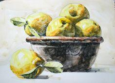 5번째 이미지 Painting & Drawing, Watercolor Paintings, Watercolors, Good Enough To Eat, Easy Watercolor, Drawing Clothes, Tropical, Great Artists, Art Pictures