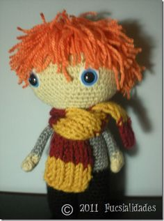 Still need to finish my Hermione! Harry Potter Love, All Is Well, Ron Weasley, Mischief Managed, Amigurumi Toys, Birthday Wishes, Arts And Crafts, Geek Stuff, Crochet Hats