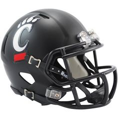 Riddell Cincinnati Bearcats Mini Speed Helmet - Black