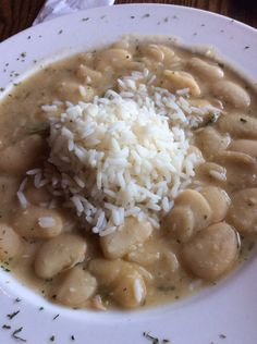 Butter beans and rice | Willie Mae's Scotch House