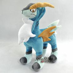 "16"" Pokemon Cobalion Plush Toy Doll New Rare #PC1586"