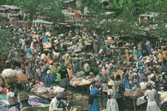 Kenscoff, The Friday Market, Port-au-Prince, Haiti
