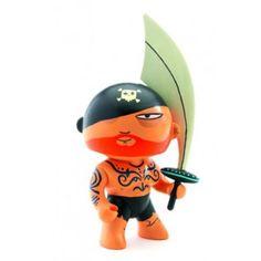 Figurine Arty Toys Les pirates : Tatoo Djeco - Magasin de Jouets pour Enfants