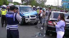 Mobil Istri TNI dan Polri Bertabrakan, Satu Bocah Terluka