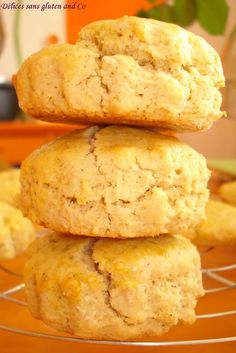 Tea time : Des scones sans gluten et sans lait