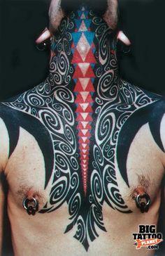 Rain Partlow - Colour Tattoo | Big Tattoo Planet