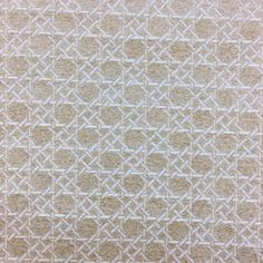 Chenille Golden Wicker Damask with Hole to Hole Caning Pattern Upholstery Fabric #BarrowIndustriesUpholstery