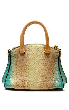 Trevi Handbag In Atlantico by VBH for Preorder on Moda Operandi