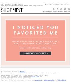 love the type treatment // reminds me of J Crew and Kate Spade