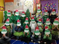 her blog site has lots of ideas for a Grinch day at school