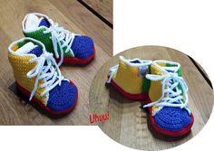 Die 12 Besten Bilder Von Uhuu Schuhe Häkeln Für Kinder