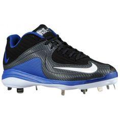 f98f6120612 Nike Air MVP Pro Metal 2 - Men s - Baseball - Shoes - Black Rush  Blue White-sku 84685041