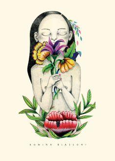 ilustracion de Romina Biassoni