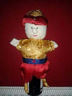 puppet, török császár báb
