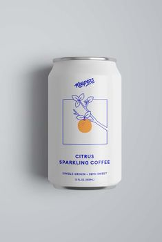 Sparkling Coffee brewed naturally in Brooklyn Keepers Sparkling Co. - Fun Graphics - Ideas of Fun Graphics - Sparkling Coffee brewed naturally in Brooklyn Keepers Sparkling Co. Graphisches Design, Label Design, Brand Design, Design Trends, Package Design, Beer Logo Design, Signage Design, Blog Design, Modern Design