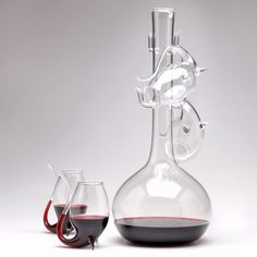 Porto Decanter Set - Gifts for the Wino - Holiday Gift Guide 212_She won't have to worry about staining her teeth before the big day!