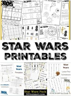 80 Star Wars Crafts Printables and Recipes - Printable Star Wars - Ideas of Printable Star Wars #starwars #printable #files -