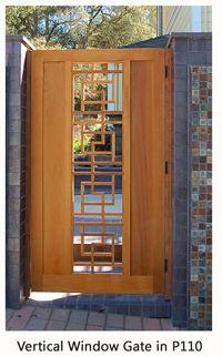 Mid Century Modern Fences And Gates Modern Fence, Mid-century Modern, Modern Design, Backyard Gates, Courtyard Entry, House Cladding, Small Courtyards, Cedar Gate, Cedar Fence
