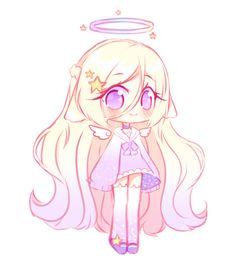 anime chibi [OTA -closed ] Star Angel by Seraphy-chan - Manga Kawaii, Kawaii Chibi, Kawaii Anime Girl, Kawaii Art, Anime Art Girl, Anime Girls, Dibujos Anime Chibi, Cute Anime Chibi, Cute Anime Pics