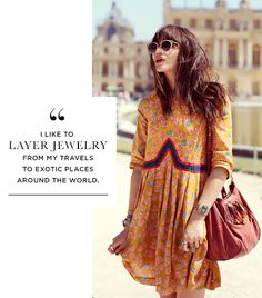 @Who What Wear - On Natalie: RAEN sunglasses; Lauren Moffatt dress; Chloe bag.  Similar Essentials: Sass and Bide Talara Sunglasses ($229); Adriana Papell Printed Shirt Dress ($162).