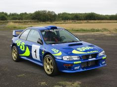 This 1996 Subaru Impreza WRC (Chassis PR0WRC97001) is the first Impreza built for the new-for-97 World Rally Championship rules. This chassis was the primary development car for Prodrive-Subaru's 1997 WRC effort, and was driven by Colin McRae and Prodrive's other drivers. These two door Im