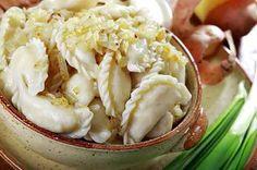 Вареники с картошкой и жареным луком | Готовим рецепты
