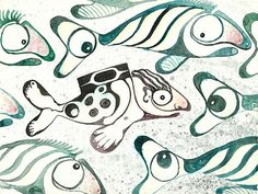 Salmon Boy/The Swimmer by Melinda Benfield