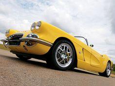 1962 Chevrolet Corvette - Wide-Body Supercharged C1 62 Chevrolet Corvette Vette-Rod - Corvette Fever Magazine