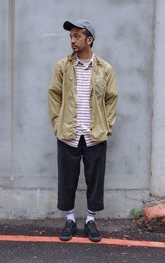 適合CASUAL、STREET、PLAIN-ME、NORMCORE、襯衫、手錶、八分西裝褲、URBAN RESEARCH、TID WATCHES、COP BY PLAIN-ME的穿搭