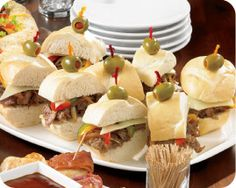 Philly Beef Mini Sliders